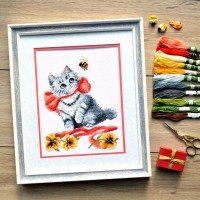 """Hunter"" - Cross stitch kit"