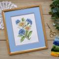 """Cross stitch kit """"Wildflowers"""""""
