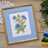 "Cross stitch kit ""Wildflowers"""
