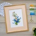 "Cross stitch kit ""Spring flowers"""