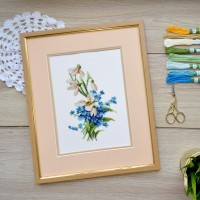 "Cross stitch kit ""Spring flowers"""