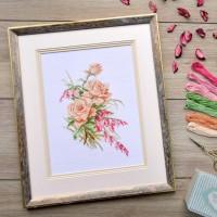 """""""Tenderness"""" - Cross stitch kit"""