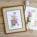 "Cross stitch kit ""Summer bouquet"""