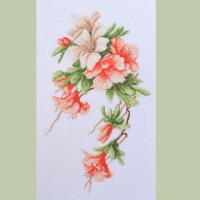 """Azalea"" - Cross stitch kit"
