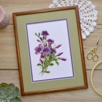 """Bellflower"" - Cross stitch kit"