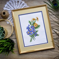 """Primrose"" - Cross stitch kit"