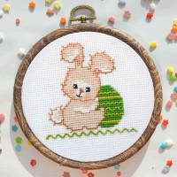 """Easter Bunny"" - Cross stitch kit"