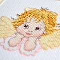 "Cross stitch kit ""Dreaming angel"""
