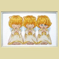 """Chorus of angels"" - Cross stitch kit"