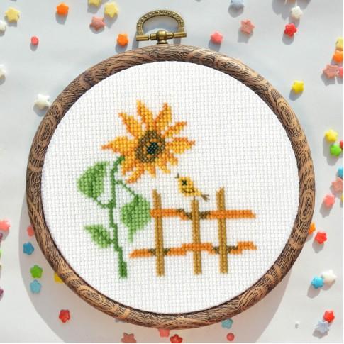 "Cross stitch kit ""Morning"""