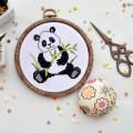 """Cross stitch kit """"Panda"""""""