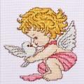 "Cross stitch kit ""Dove of Peace"""