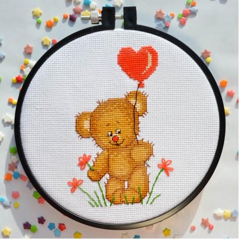 "Cross stitch kit ""Congratulations!"""
