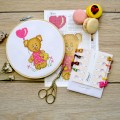 "Cross stitch kit ""I love you"""