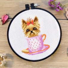 """Guardian of the cookie"" - Cross stitch kit"