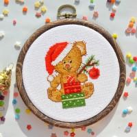 """Christmas"" - Cross stitch kit"