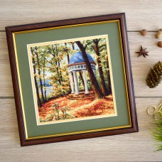 "Cross stitch kit ""Autumn park"""