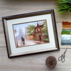 "Cross stitch kit ""Foggy day"""
