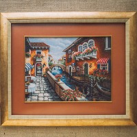 "Cross stitch kit ""Venice"""