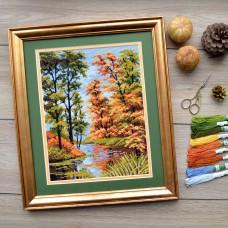 """""""Autumn"""" - Cross stitch kit"""