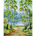 "Cross stitch kit ""Spring"""