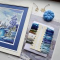 "Cross stitch kit ""Winter"""
