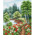 "Cross stitch kit ""Summer"""