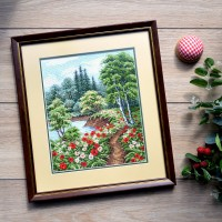 """Summer"" - Cross stitch kit"