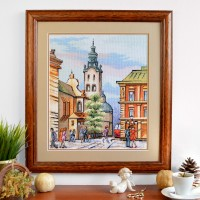"""Lviv"" - Cross stitch kit"