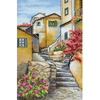 """Italian steps"" - Cross stitch kit"