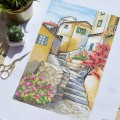 "Cross stitch kit ""Italian steps"""