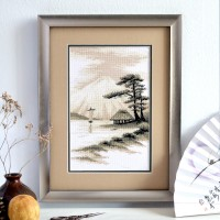 """Fujisan"" - Cross stitch kit"