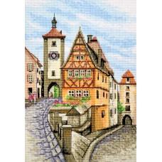 """Rothenburg"" - Cross stitch kit"