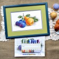 "Cross stitch kit ""Still life with a pear"""