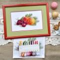 "Cross stitch kit ""Still life with a peach"""