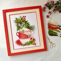 """Fragrant Herbs"" - Cross stitch kit"