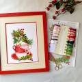 "Cross stitch kit ""Fragrant Herbs"""