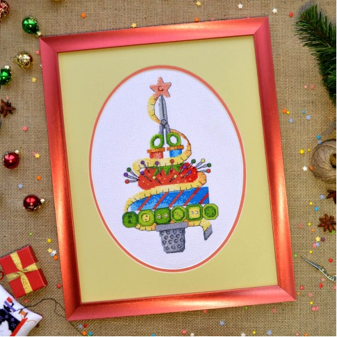 "Cross stitch kit ""Christmas tree"""