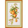 """Cross stitch kit """"Pear tree branch"""""""