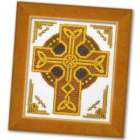 Celtic Cross - Counted Cross Stitch Kit